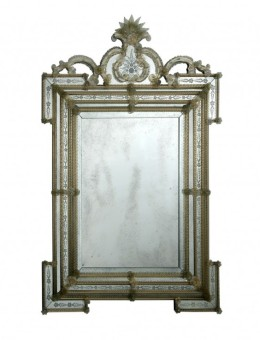 Miroirs v nitiens de murano de fabrication artisanale for Miroir collable