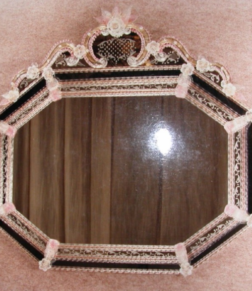 Miroir traditionnel v nitien de style baroque luxury for Miroir collable