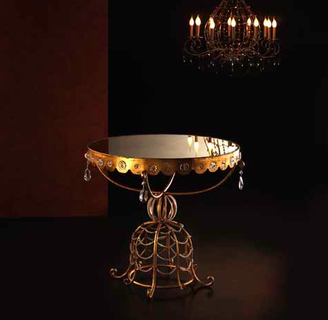 Miroir artisanal en forme de soleil luxury chandeliers for Miroir collable