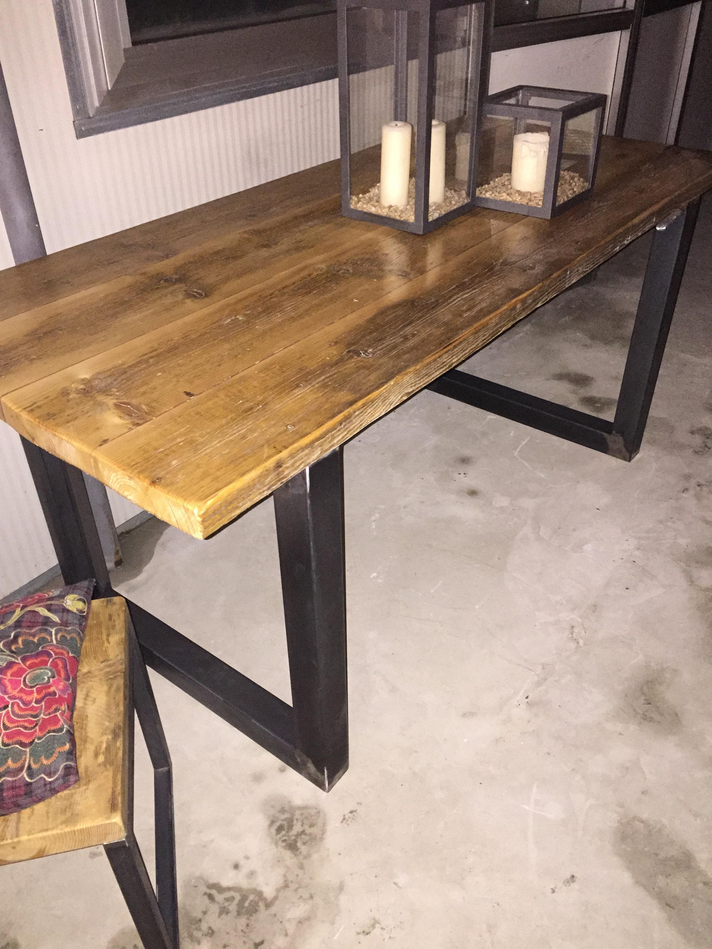 100 fabriquer une table a manger construire une for Fabriquer table a manger