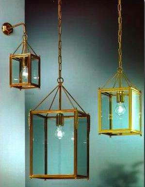 Lanternes en laiton